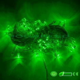 Guirnalda LED Verde 10 metros