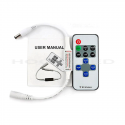 Controlador y Mando para Tiras Monocolor Wireless