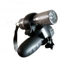 Linterna Mini Bicicleta+soporte