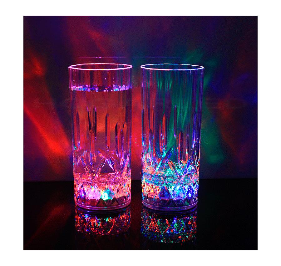 Vasos de LED regalo original mejor precio 3.50€ iva incluido