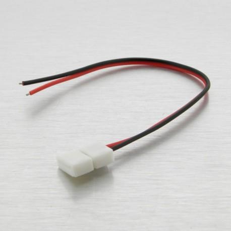 Cable flexible tira LED Monocolor 1 terminal
