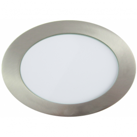 Downlight LED 18W Circular Níquel Satinado