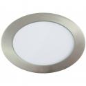 Downlight LED 18W Circular Níquel Satinado