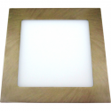 Downlight LED 18W Cuadrado Oro