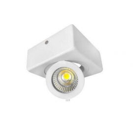 Downlight de Superficie Cob 12w Cuadrado