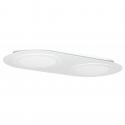 Plafón LED 36W Blanco Doble