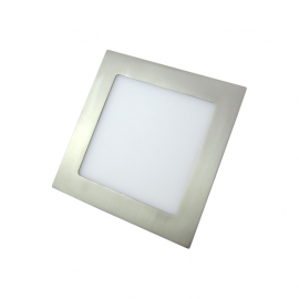 Downlight LED 12W Cuadrado Níquel