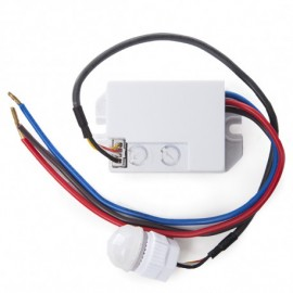 Sensor de Movimiento para Empotrar Mini 140º