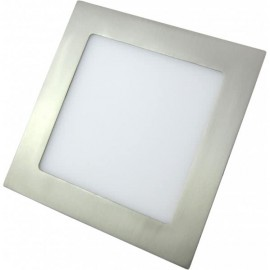 Downlight LED 5W Níquel Cuadrado