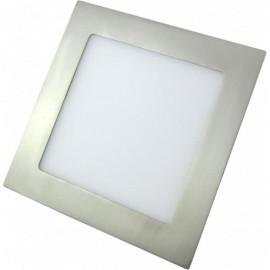 Downlight LED 5W Níquel Cuadrado