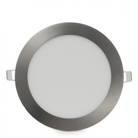 Downlight LED 12W Circular Niquel Satinado