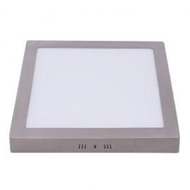 Plafón LED 24W Cuadrado Níquel