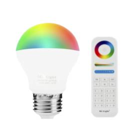 PACK E27 6W RGB+CCT y Mando WIFI