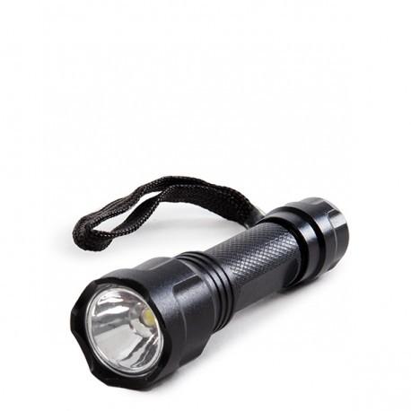 Mini Linterna LED Negra
