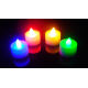 Velas LED Multicolor