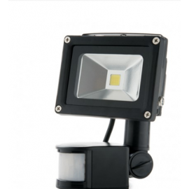 Foco Proyector Exterior 10W Con Sensor Movimiento