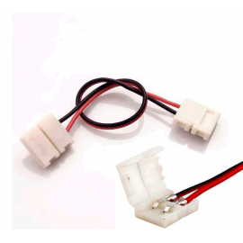 Cable flexible tira LED Monocolor, terminal