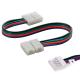 Cable Connector flexible tira LED rgb con terminal