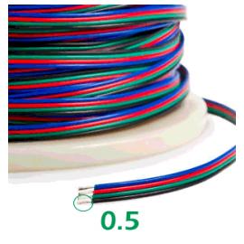 Cable RGB por metros