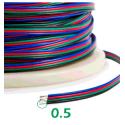 Cable RGB 4 pin por metros