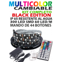 KIT Tira LED RGB IP65 BLACK EDITION