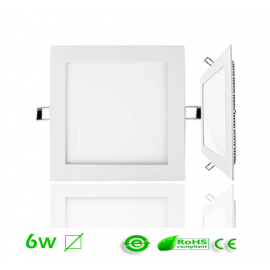 Downlight LED 6W Cuadrado