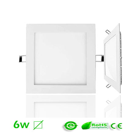 Panel LED 6w Cuadrado