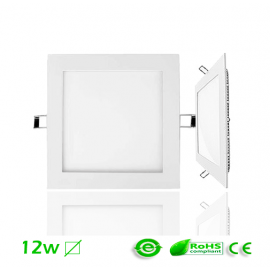Downlight LED 12W Cuadrado