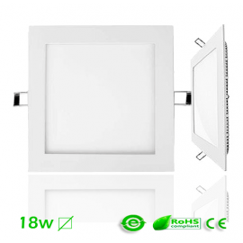 Downlight LED 18W Cuadrado ECO Ultra Slim