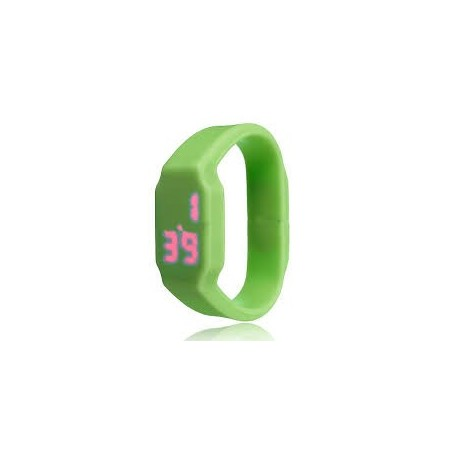 reloj silicona verde Usb 8 Gb