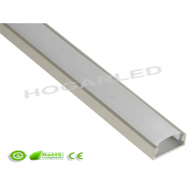 Perfil aluminio MOD. FINE 6mm 2 metros