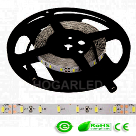 Tira 300 LED Alta Intensidad 5630SMD IP20 24V