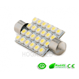 Festoon Canbus 24SMD 42mm