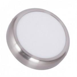 Plafón LED Redondo Design 18W Silver