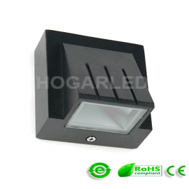 Aplique de LED exterior IP65 3W