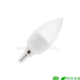 Bombilla LED E14 C37 5W Blanco Frío