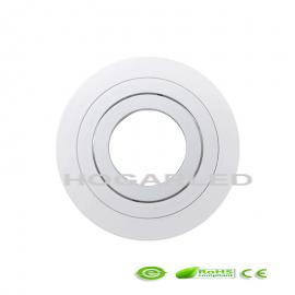 Aro Dicroica Blanco basculante circular